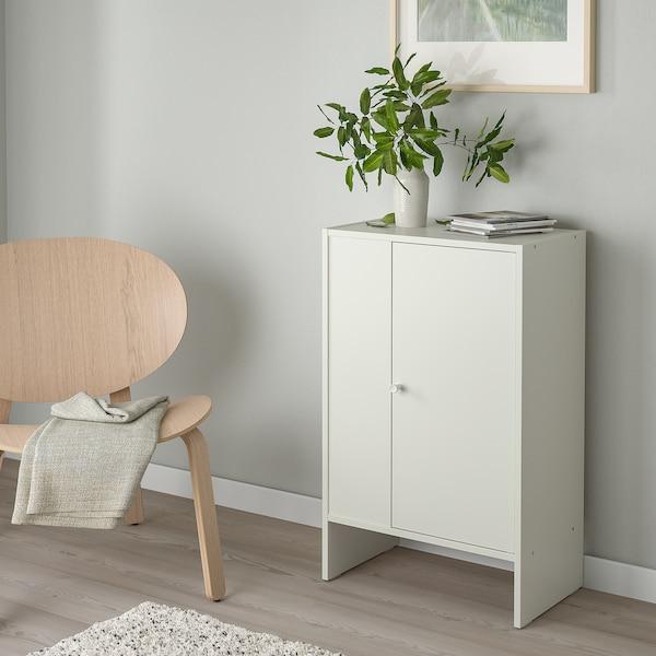 BAGGEBO Skab med låge, hvid, 50x30x80 cm