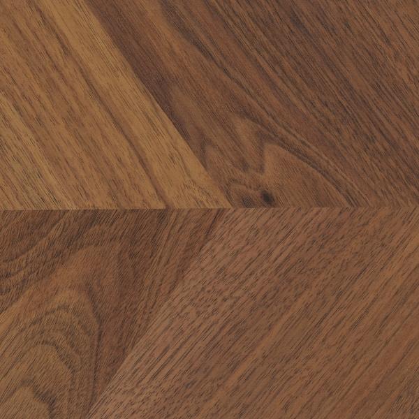 BARKABODA Bordplade efter mål, valnøddetræ/finer, 45.1-63.5x3.8 cm