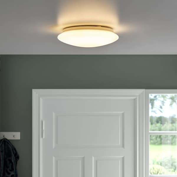BARLAST LED-loft-/væglampe, hvid, 25 cm