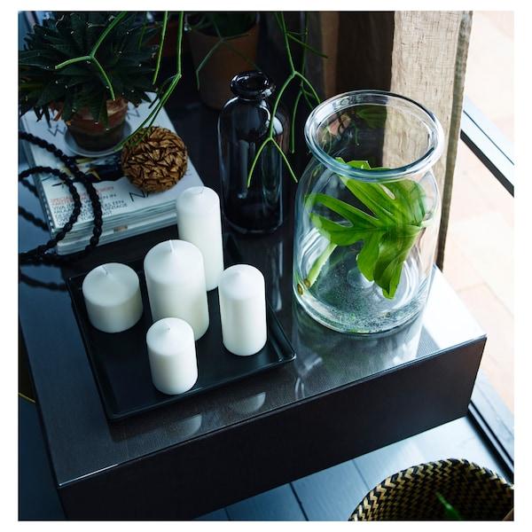BEGÄRLIG vase klart glas 29 cm 19 cm