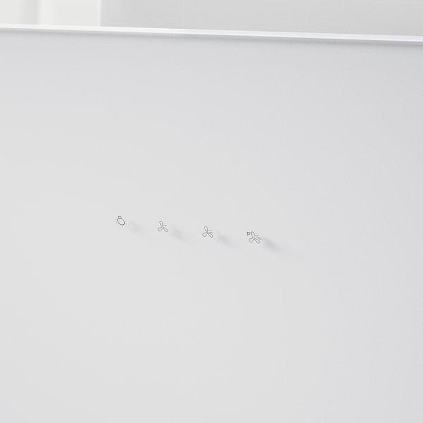 BEJUBLAD Vægmonteret emhætte, hvid