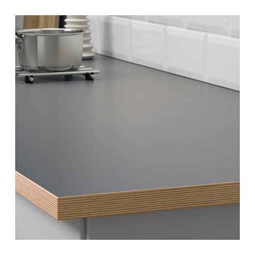 BERGSTENA Bordplade, dobbeltsidet - 186x2.8 cm - IKEA