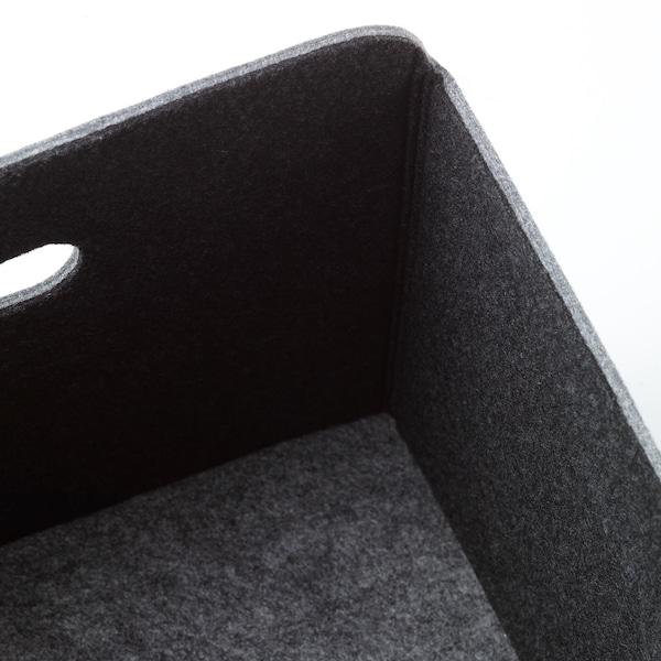 BESTÅ Kasse, grå, 32x51x21 cm