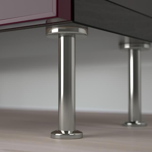 BESTÅ Opbevaringsløsning med vitrinelåger, sortbrun Glassvik/Stallarp/mørk rødbrun klart glas, 60x22x202 cm