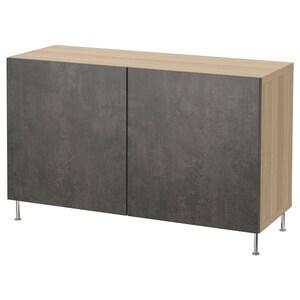 Farve: Egetræsmønster med hvid bejdse kallviken/stallarp/mørkegrå betonmønstret.