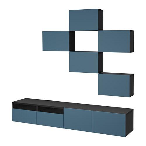 best tv m bel kombination ikea. Black Bedroom Furniture Sets. Home Design Ideas