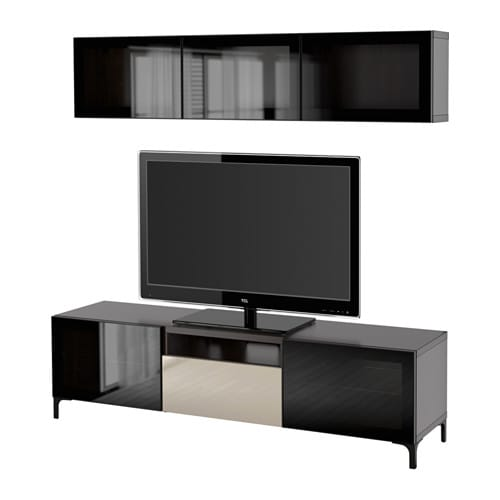 best tv m bel med vitrinel ger ikea. Black Bedroom Furniture Sets. Home Design Ideas