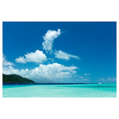 BILD Plakat, The island of Taha, 91x61 cm