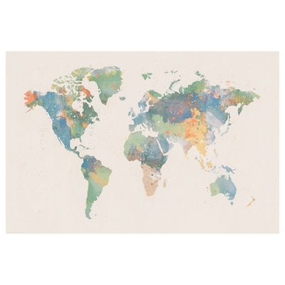 BILD Plakat, World of colours, 91x61 cm
