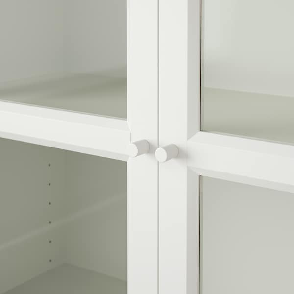 BILLY / OXBERG Reol, hvid, 80x30x202 cm