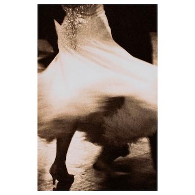 BJÖRKSTA Billede, Snurrende danser, 78x118 cm
