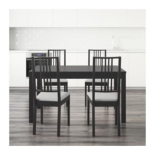 Bjursta / bÖrje bord og 4 stole   ikea