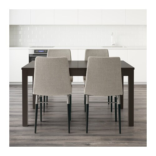 Bjursta / preben bord og 4 stole   ikea