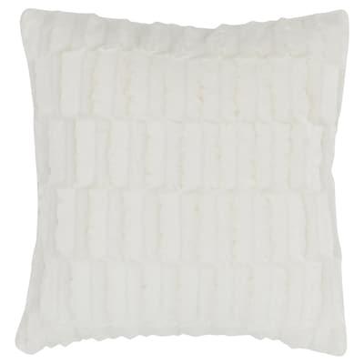 BLÅREGN Pudebetræk, hvid, 50x50 cm