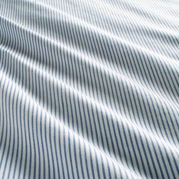 BLÅVINDA Dynebetræk og pudebetræk, lyseblå, 140x200/60x70 cm