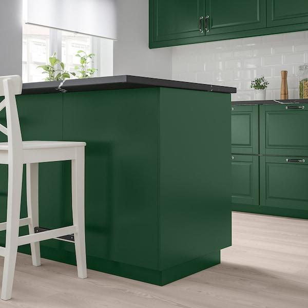 BODBYN sidebeklædning mørkegrøn 61.5 cm 240.0 cm 1.3 cm