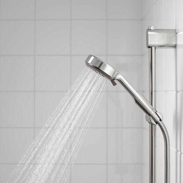 BROGRUND Brusebadssæt med termostatarmatur, forkromet