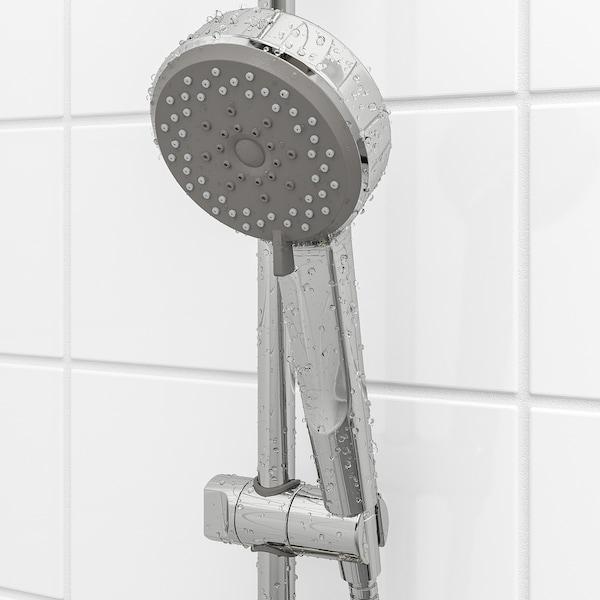BROGRUND Håndbruser med 5 funktioner, forkromet
