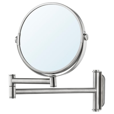 BROGRUND Spejl, rustfrit stål, 3x27 cm