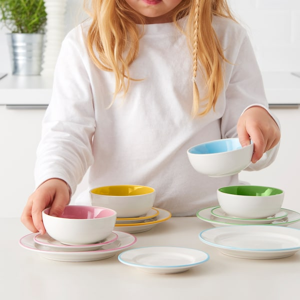 DUKTIG Tallerken/skål