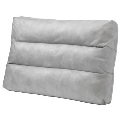 DUVHOLMEN inderpude til ryghynde udendørs grå 44 cm 62 cm 14 cm 995 g 1065 g