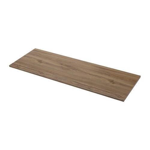 ekbacken bordplade efter m l m rkt egetr sm nster laminat 63 6 125x2 8 cm ikea. Black Bedroom Furniture Sets. Home Design Ideas