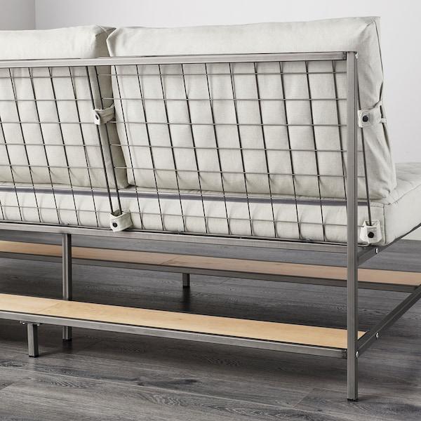 EKEBOL 3-pers. sofa, Katorp natur