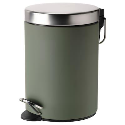 EKOLN Affaldsspand, grågrøn