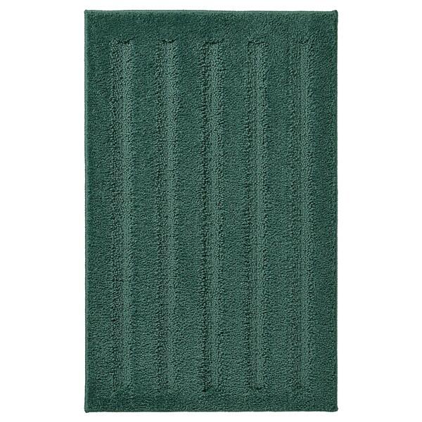 EMTEN bademåtte blå/grøn 80 cm 50 cm 0.40 m²