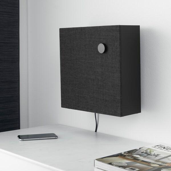 ENEBY Bluetooth-højttaler, sort, 30x30 cm