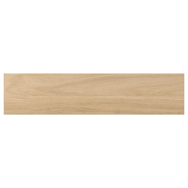 ENHET Skuffefront til underskab til ovn, egetræsmønstret, 60x14 cm