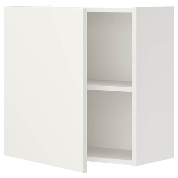 ENHET Vægskab med 1 hylde/låge, hvid, 60x32x60 cm