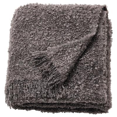 EVALI Plaid, mørkegrå, 130x170 cm