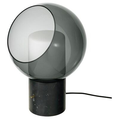 EVEDAL bordlampe marmor/grå globe 5.7 W 400 lm 280 mm 394 mm 134 mm 2.0 m 5.7 W
