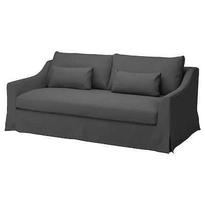 FÄRLÖV 3-pers. sofa, Flodafors grå