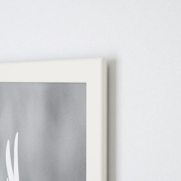 FISKBO Ramme, hvid, 10x15 cm