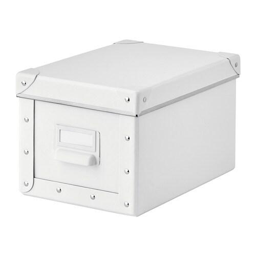 Utroligt FJÄLLA Opbevaringskasse med låg - IKEA KO22