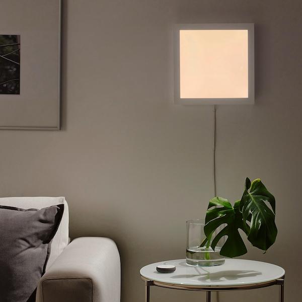 FLOALT LED-lyspanel, kan dæmpes/hvidt spektrum, 30x30 cm