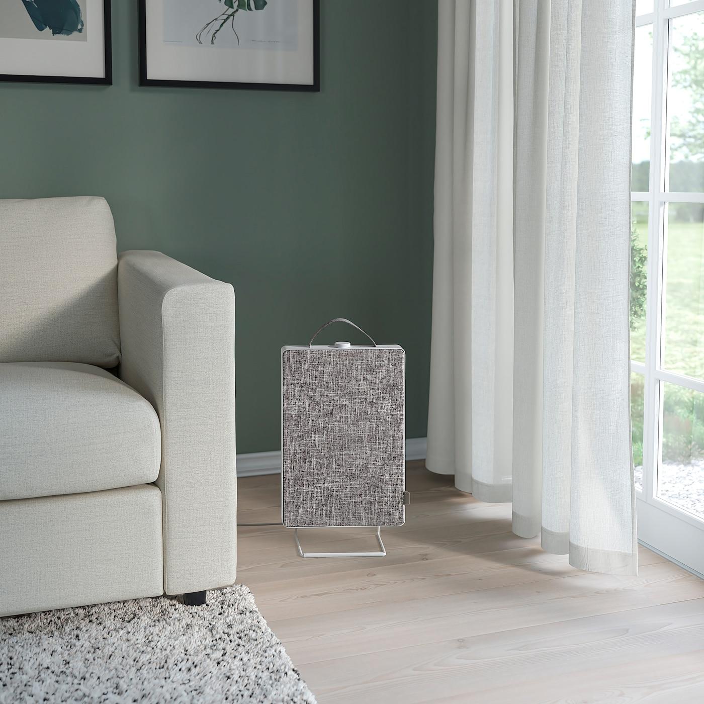 FÖRNUFTIG Luftrenser, hvid, 31x45 cm