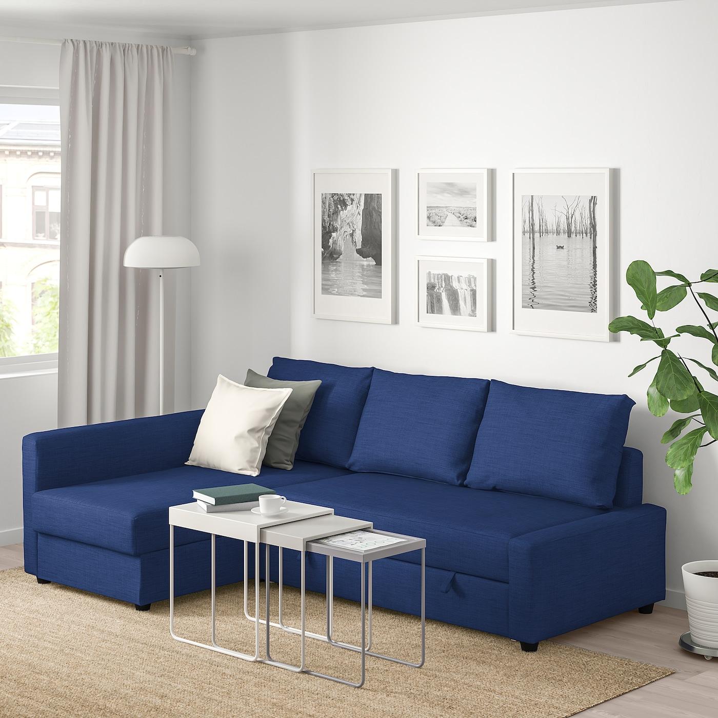 Friheten Hjornesovesofa Med Opbevaring Skiftebo Bla Ikea