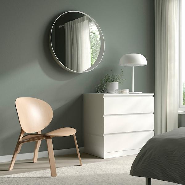 FRÖSET Lænestol, egetræsfiner med hvid bejdse
