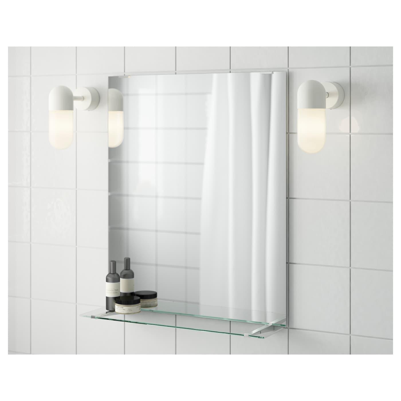 Picture of: Fullen Spejl Med Hylde 50×60 Cm Ikea
