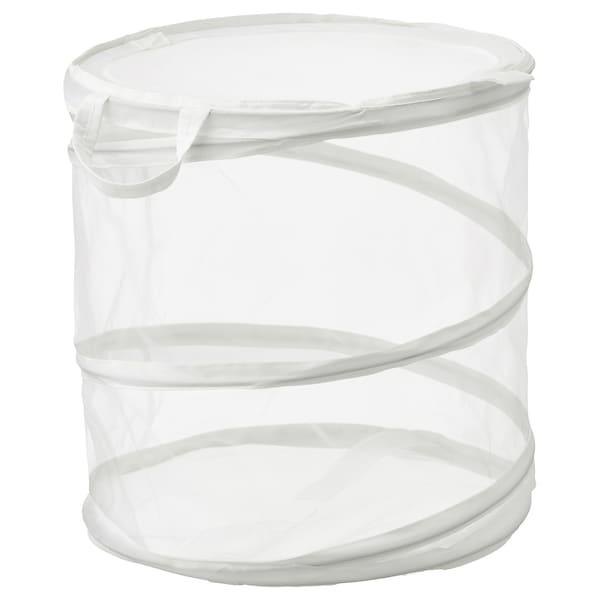 FYLLEN Vasketøjskurv, hvid, 79 l