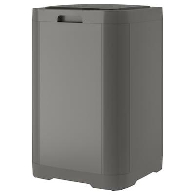GIGANTISK Affaldsspand med tryklåg, mørkegrå, 60 l