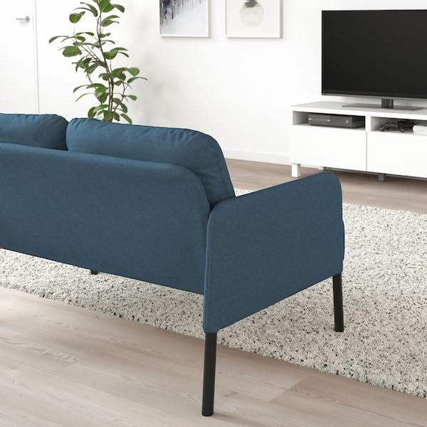 GLOSTAD 2-pers. sofa, Knisa mellemblå