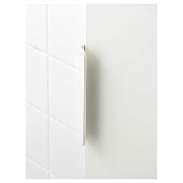 GODMORGON Højskab, hvid, 40x32x192 cm