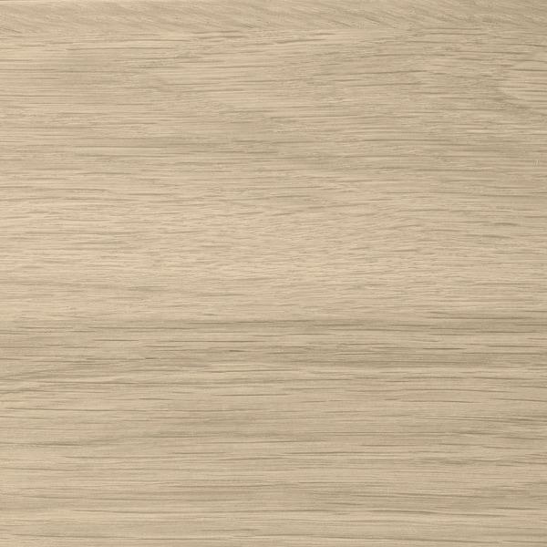 GODMORGON Skab til vask med 4 skuffer, egetræsmønster med hvid bejdse, 120x47x58 cm