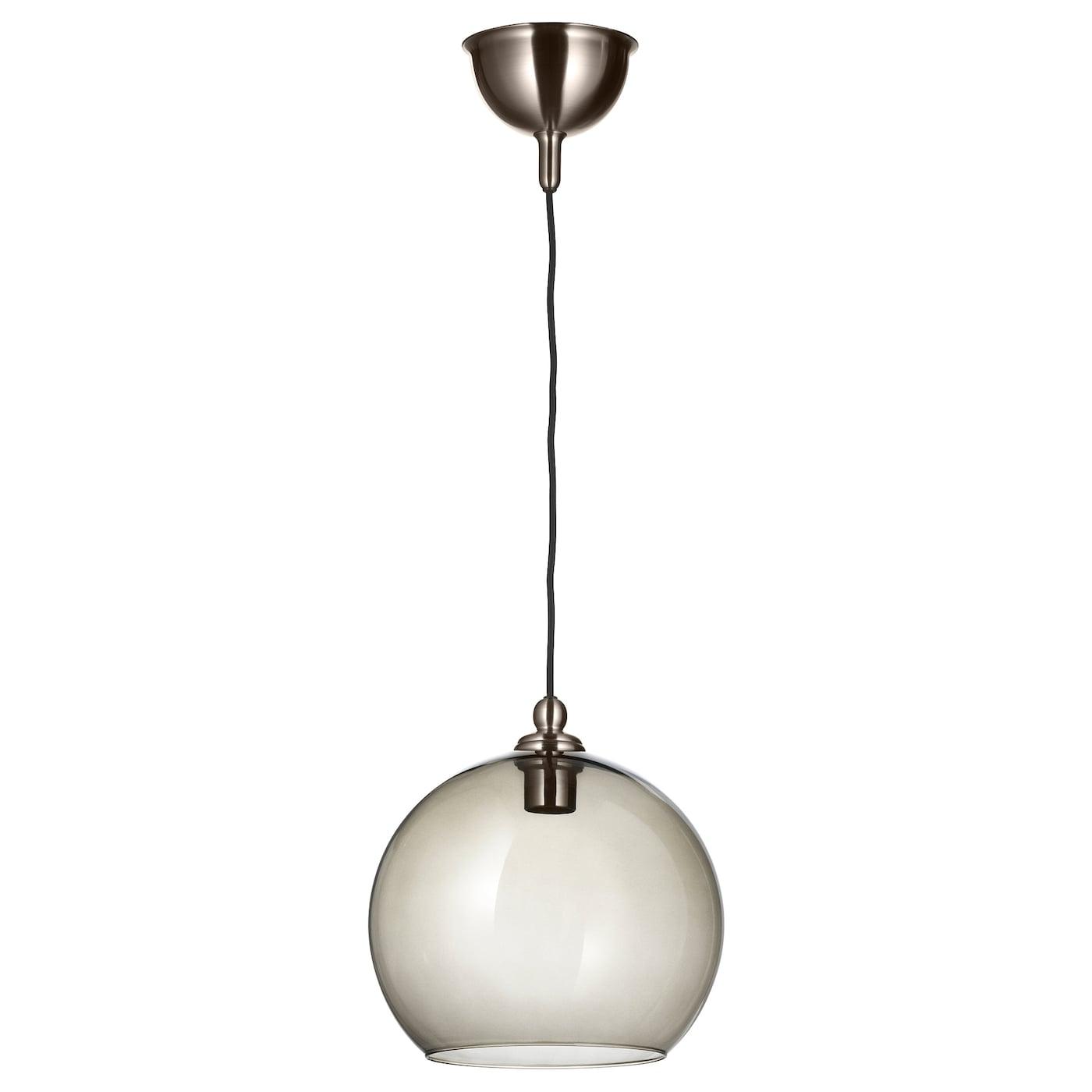 GOTHEM JAKOBSBYN Loftlampe mørkegrå, røgfarvet 30 cm