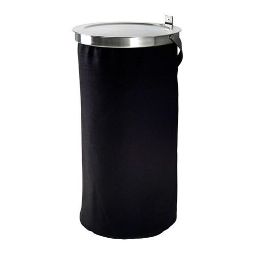 GRUNDTAL Vasketøjskurv IKEA Vasketøjsposen er fremstillet af