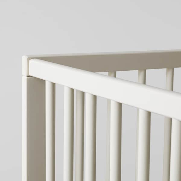 GULLIVER Tremmeseng, hvid, 60x120 cm